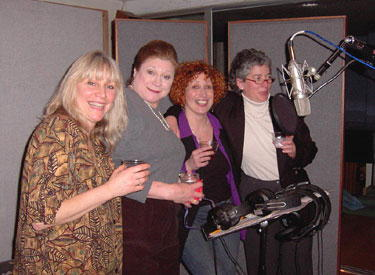 Mary Sq, Anne Stone and Julia and Lou record